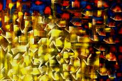 ANGOLI DI UNIVERSO - OLIO SU TELA - 100X80 - 2012