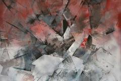 Anello commutativo, olio su tela, cm 100x150, 2017